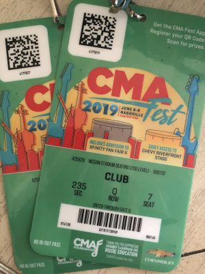 Passions: CMA FEST 2019 - Katie Girl Here